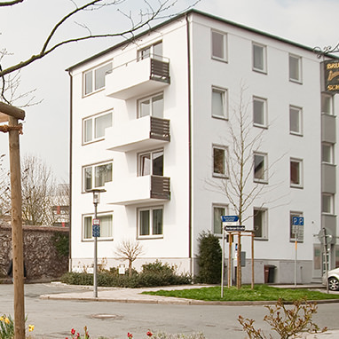 Praxisgebäude Dr. Hofmann Außenansicht