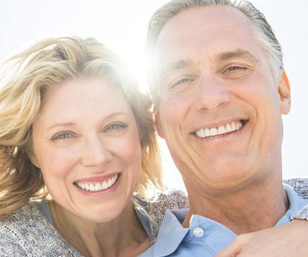 Gesundes Lächeln im Alter